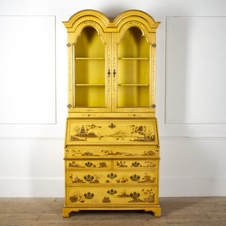 Chinese Lacquered Bureau Bookcase DB4517158