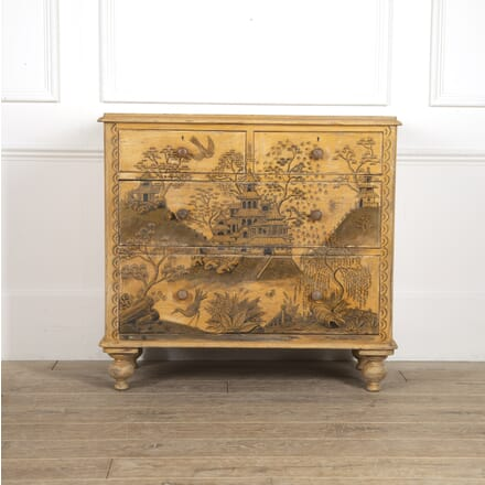 Chinoiserie Painted Chest of Drawers CC3514738