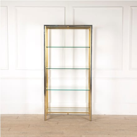 Chrome and Brass Etagere BK3011297