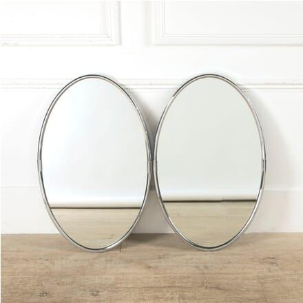 Chrome Oval Mirrors MI0561792