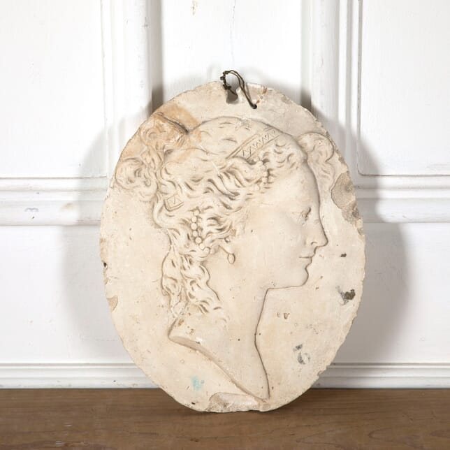 Classical Plaster Wall Plaque DA9011263