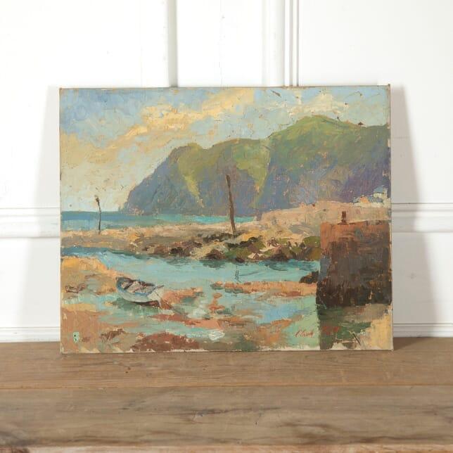 Cornish Coastal Scene signed Claude Kitto WD9011253