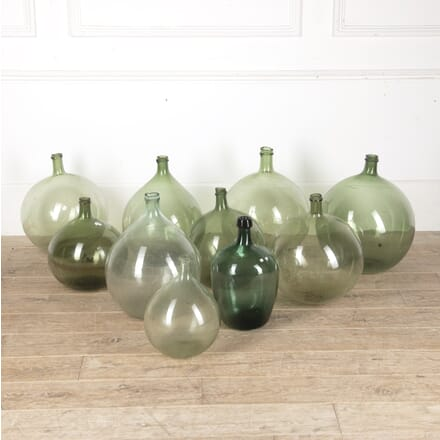 Collection of Glass Olive Oil Bottles GA2513482