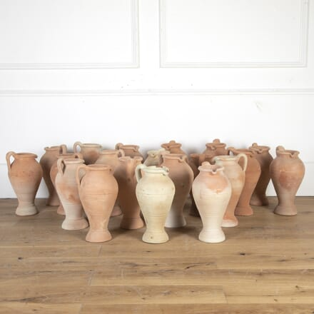 Collection of 20 Terracotta Vases GA9013693