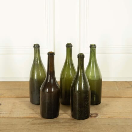 Collection of Five 19th Century French Wine Bottles DA259120