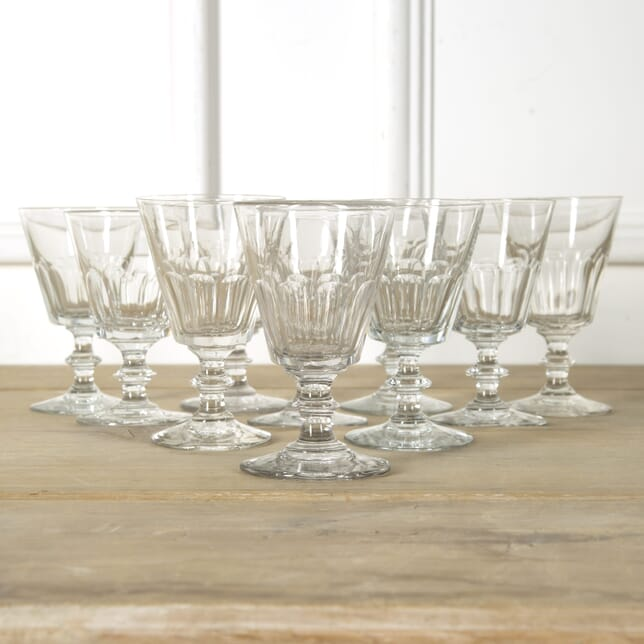 Collection of Ten French Wine Glasses DA759476