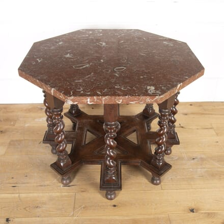 Continental Centre Table with Marble Top TC0315843