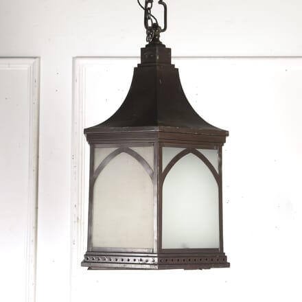 Huge Copper Lantern LL7915754