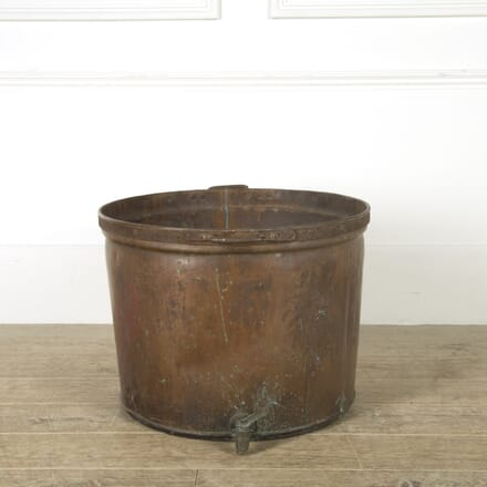 Copper Log Bin GA529270