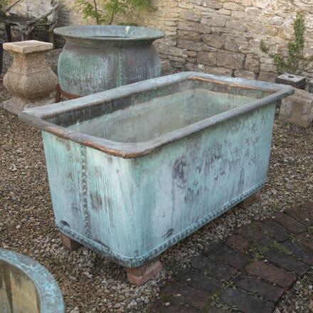 French 19th Century Copper Trough DA0715128