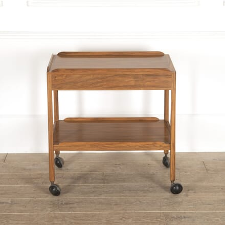Cotswold School Walnut Drinks Trolley TS0514364