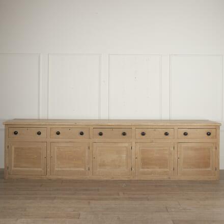 Large English Painted Pine Dresser Base BU0916132