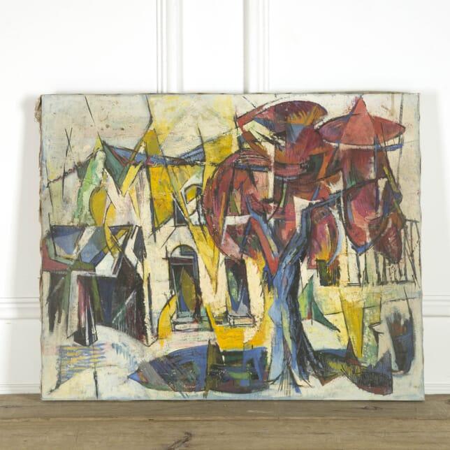 Cubist View of Saint Tropez 1 WD299364