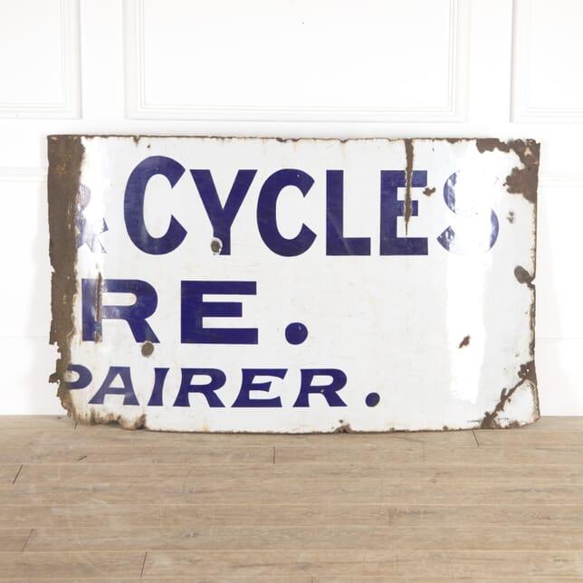 Cycles Enamel Sign DA7814457