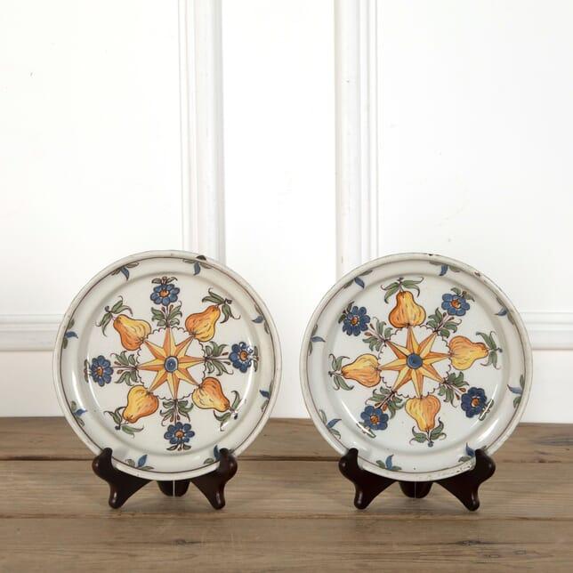 Pair of 18th Century Plates DA9060444
