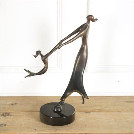 'Dance of Life' Bronze Sculpture by D.E. McDermott DA909927