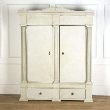 Danish Painted Cupboard CU369545