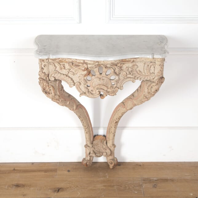 Decorative Marble Topped Console Table CO4710740