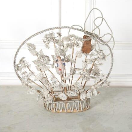 Decorative Beadwork Basket DA1511580