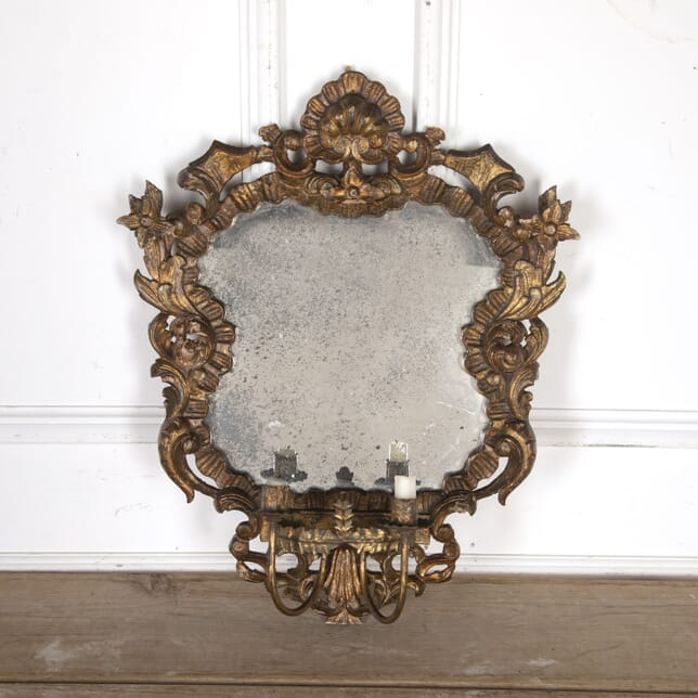 Decorative French Gilt Oval Mirror MI8015137