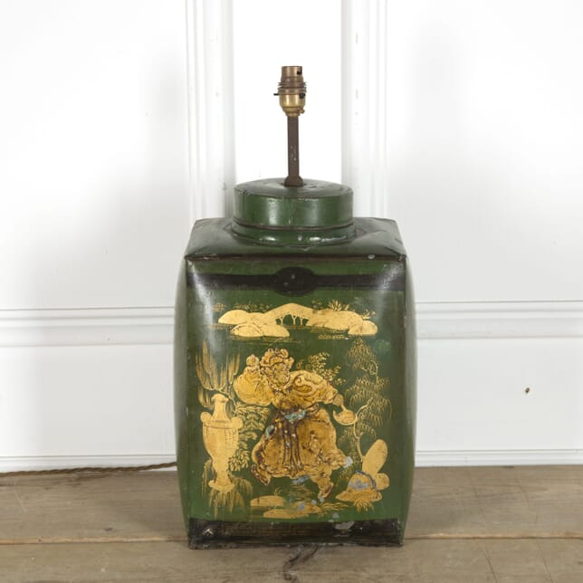 Decorative Chinoiserie Style Tea Tin Lamp LT2010088
