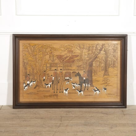 French Hunting Panel WD1515211