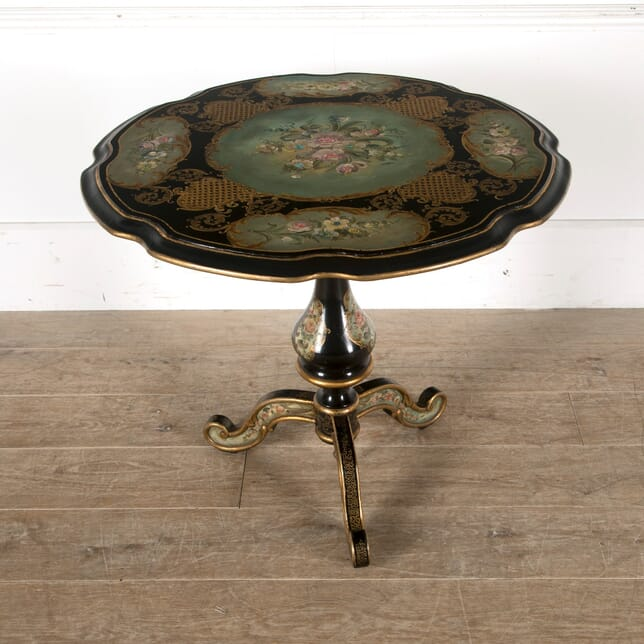 Decorative Italian Tilt Top Table TC1510570