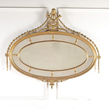 Decorative Oval Mirror MI8413935
