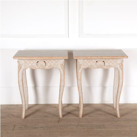 Decorative Pair of 19th Century Swedish Tables LT6011295