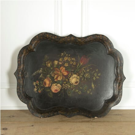 Decorative Regency Papier-Mache Tray DA2010328