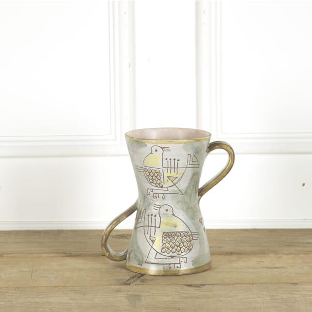 Diabolo Shaped Two Handled Vase DA299365