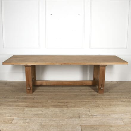 Large French Beech Dining Table TD5217340
