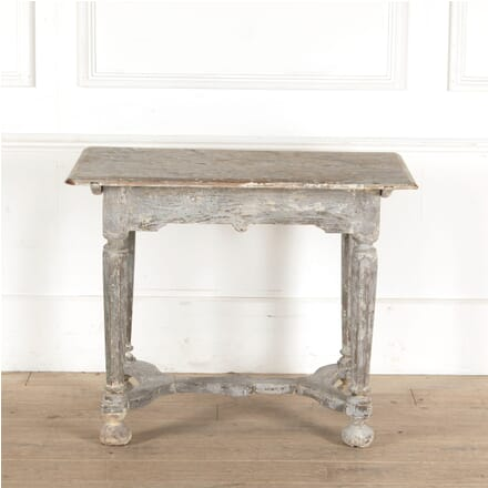 Distressed Painted Oak Table TC1311129