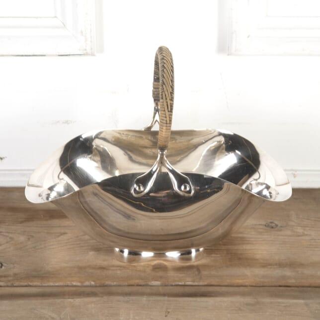 Silver-Plated Basket by Dr Christopher Dresser DA5815474