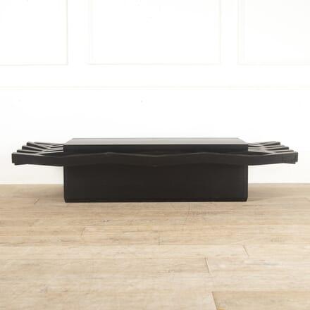Dramatic Ebonsied Ash Coffee Table CT7814036