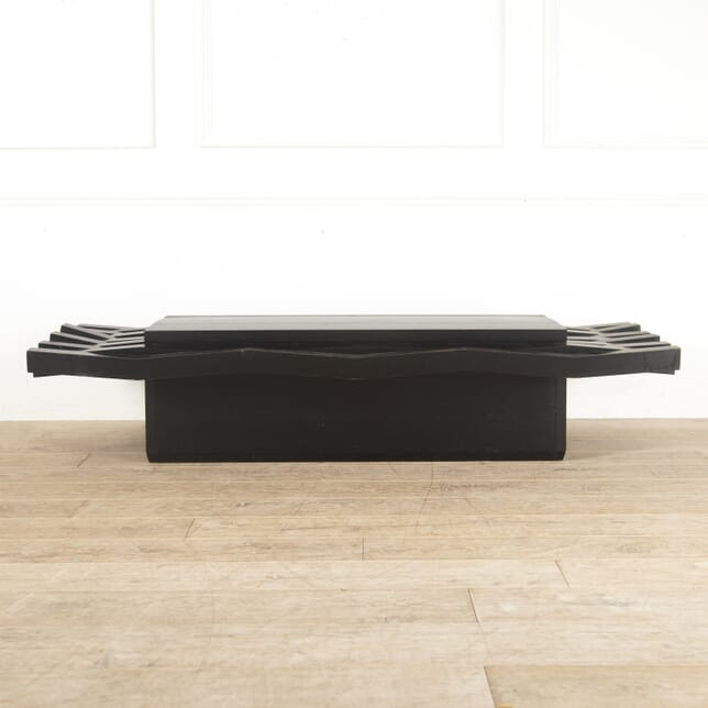 Dramatic Ebonsied Ash Coffee Table CT7814036