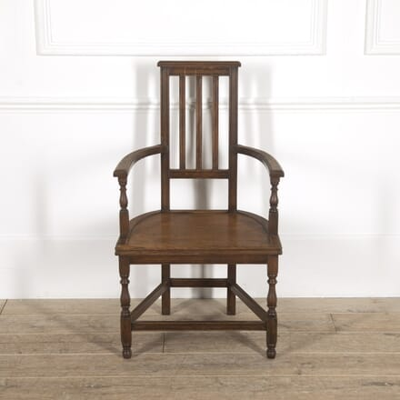 E. W. Godwin Oak Shakespeare Chair CH7814772
