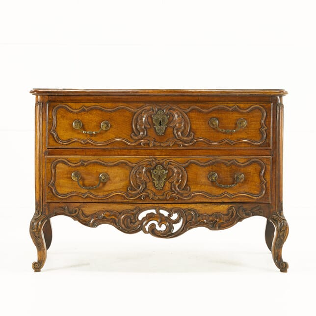 Early 18th Century Louis XV Two Drawer Commode CC069907