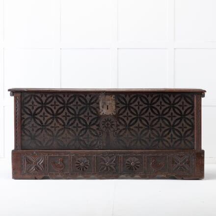 Early 18th Century Oak Coffer CB0617132