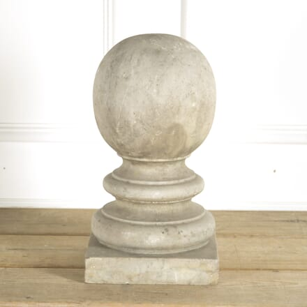 Early 19th Century Baluster Marble Finial GA0910104