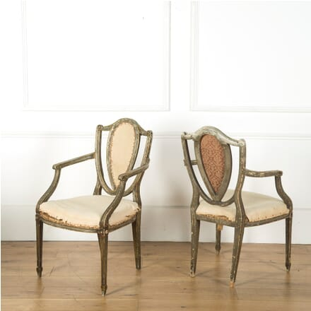 Early 19th Century English Armchairs CH109462