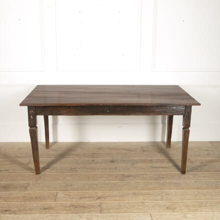 French 19th Century Fruitwood Farmhouse Table TD8815613