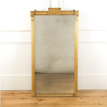 Early 19th Century Gilt Pier Mirror MI999933