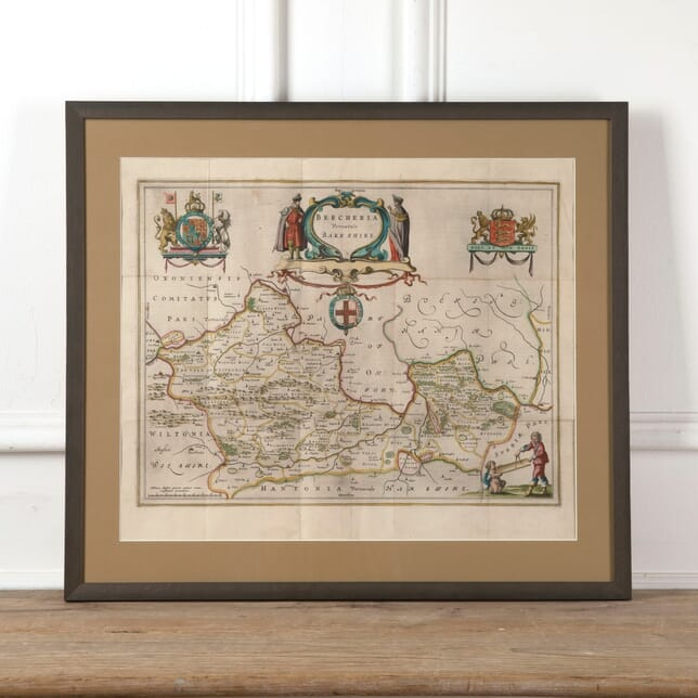 Early 19th Century Map of Berkshire WD8811378