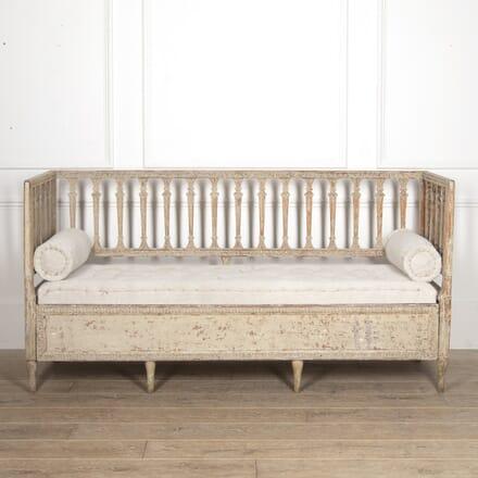 Early 19th Century Swedish Stick-Back Sofa SB6015833