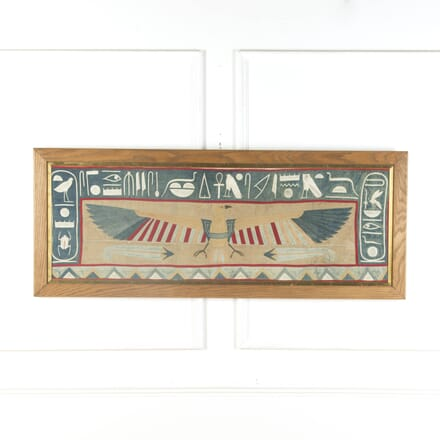 Early 20th Century Egyptian Revival Applique WD579443