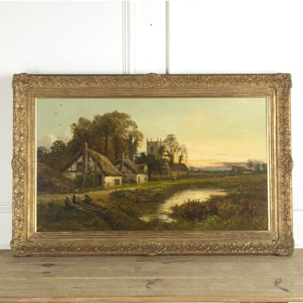 Early 20th Century English Oil Painting by Daniel Sherrin WD889974