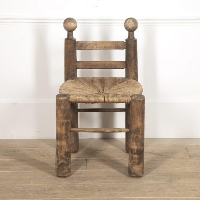 French Country Style Rush Seat Chair CH7715711