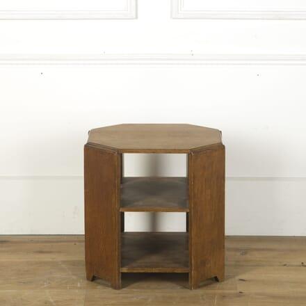 Heals Two Tier Oak Table CT2710028