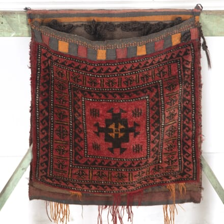 Early 20th Century Kilim Carpet Saddlebag RT7713649